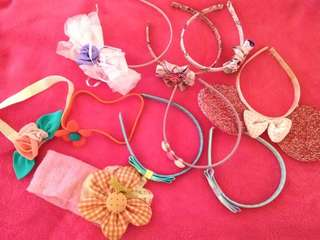 Preloved Hair Accessories@30 each only!