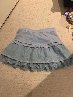 Nice blue skirt size 8