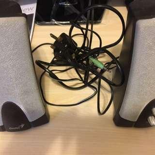 電腦喇叭 Loudspeakers (1 Set) 90%new