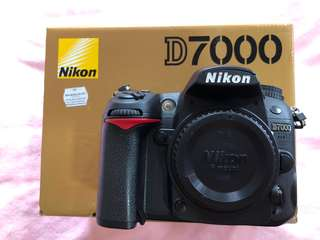 D7000 (Free gift)