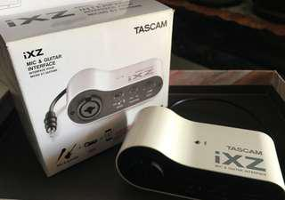 Tascam iXZ Mic & Guitar Interface