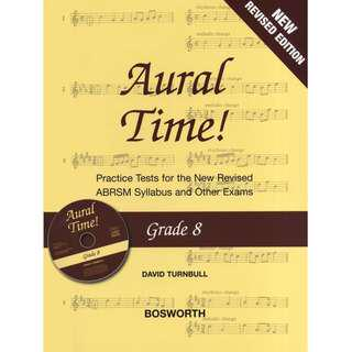 AURAL TIME! GRADE 8 (NEW REVISED EDITION WITH CD)
