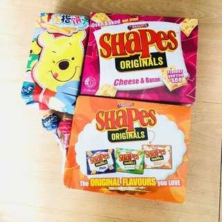 嘢食 $15/all  shapes op over 30