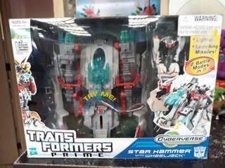 Transformer Prime  Star Hammer with Wheeljack