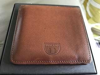 Original Toscano Man Wallet Brown