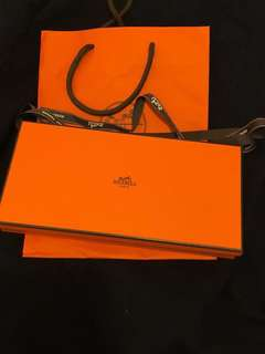 Hermes Wallet azap silk wallet long