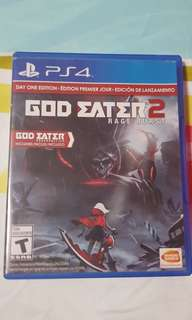 TRADES ACCEPTED!! PS4 GOD EATER 2
