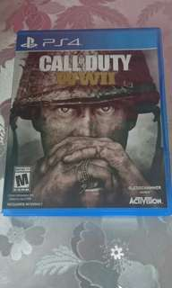 CALL OF DUTY WWII PS4 Game