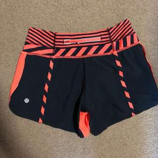 Lululemon Sports Shorts size 2