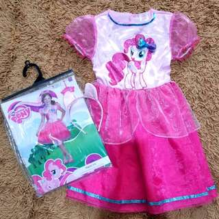 BLC: Auth Hasbro My Little Pony Pinkie Pie Costume Dress 4-5T