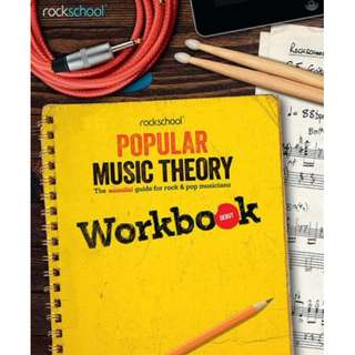 *SALE* BRAND NEW Rockschool Popular Music Theory Workbook (Debut / Grade 2 / 3)