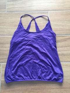 Lorna Jane size M purple top