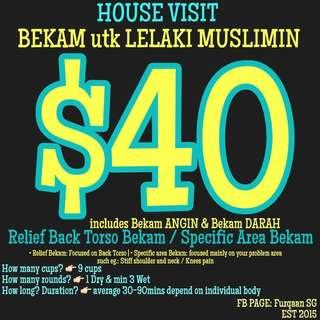 Housevisit Bekam for Muslimin(Lelaki)