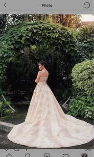FOR RENT: Ball/Debut Gown