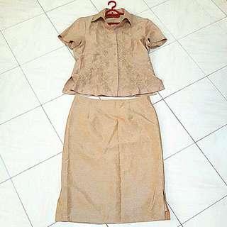 Blouse & Skirt