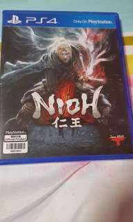 TRADES ACCEPTED!! PS4 NIOH