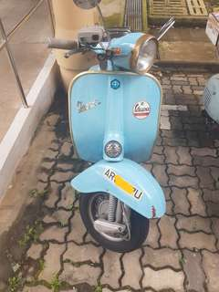 Vespa classic for sale AR Plate