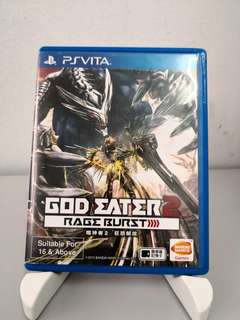 PS VITA God Eater:Rage Burst Chi Version
