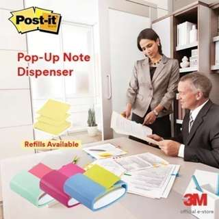 LAST PC 50% OFF!! 3M Post-it® Pop-up Note Dispenser BRAND NEW!!