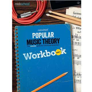 *SALE* BRAND NEW Rockschool Popular Music Theory Workbook (Grade 6 / 7 / 8)