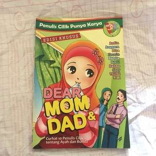Novel Anak : Dear Mom & Dad