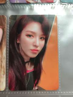 [可加錢]Red Velvet Wendy換Irene小卡