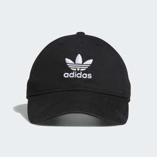 2⃣️🖐🏻Adidas original 愛迪達三葉logo黑色經典款老帽