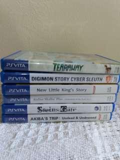 Used Vita games