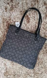 Coach zip tote bag - small (Black)