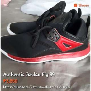 Authentic and Original Jordan Fly 89