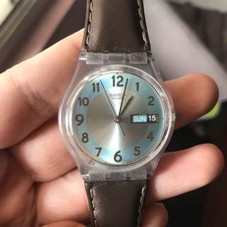 Swatch leather Original Store Indonesia