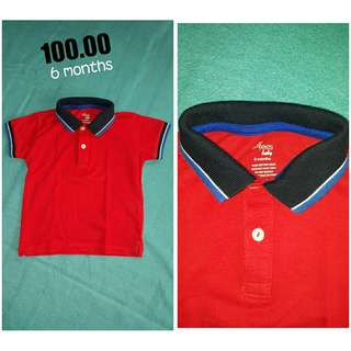 Just tees (red plo shirt)