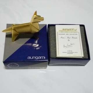 Aurigami origami dog