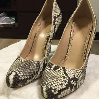 Bally Python High Heel Shoes