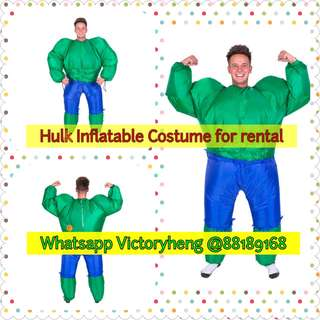 Hulk Inflatable Costume for rental