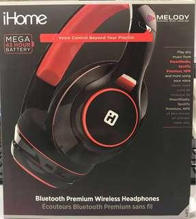 Bluetooth headphones 藍芽耳機 iHome iB90