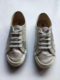 Superga Sneakers Silver Size 37