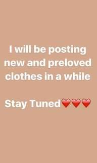 Preloved and Brand New Women's Clothing