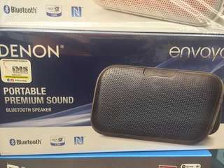 Brand new Denon portable Bluetooth wireless speaker envaya