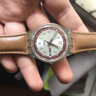Swatch Croissant Leather Original Store Indonesia