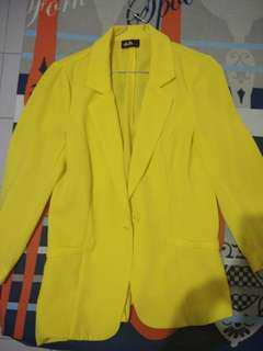 Blazer Kuning #mau decay