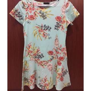 Dress Floral Cotton on