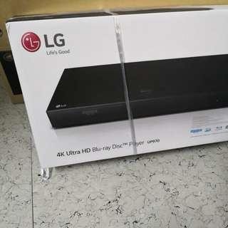 LG Blu-ray player UP970 (全新)