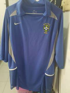 Brazil Away 2002 player Issue