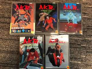 Chinese Comics 亚基拉 Akira Colored version