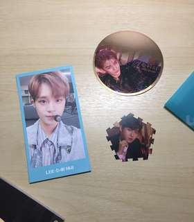 [SALE] Wanna One Official MD / Loose Items