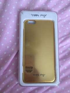 Happy Plugs iphone 6/6s plus gold case