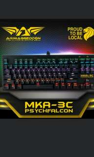 Armageddon mka 3c mechanical gaming keyboard