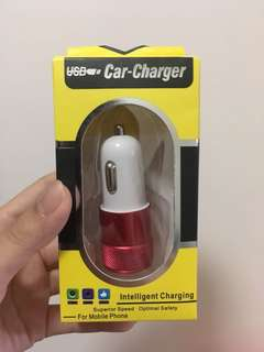 USB Car Charger 汔車充電器