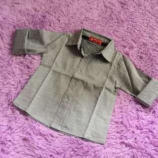 Grey top size 1-2 yo